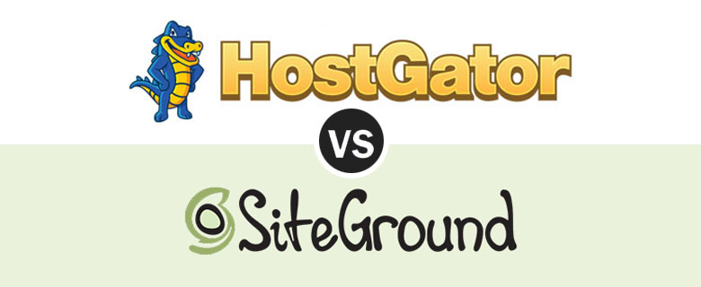 Hostgator v/s SiteGround webhosting comparison