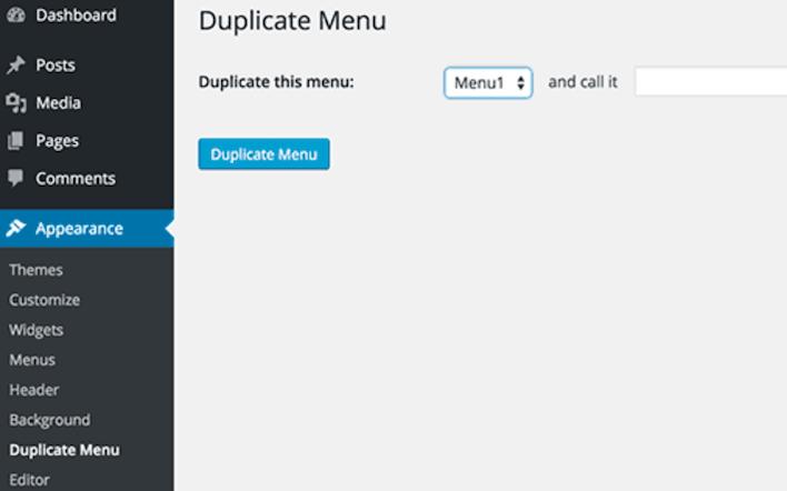 Creating Duplicate Menus in WordPress