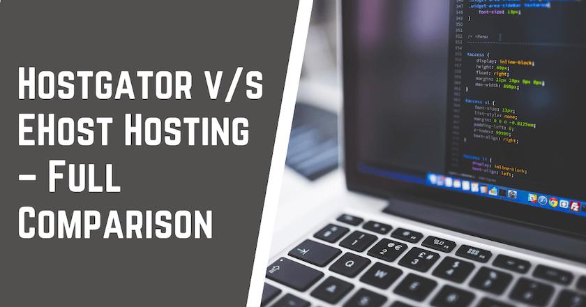 HostGator v s eHost Hosting Comaprison
