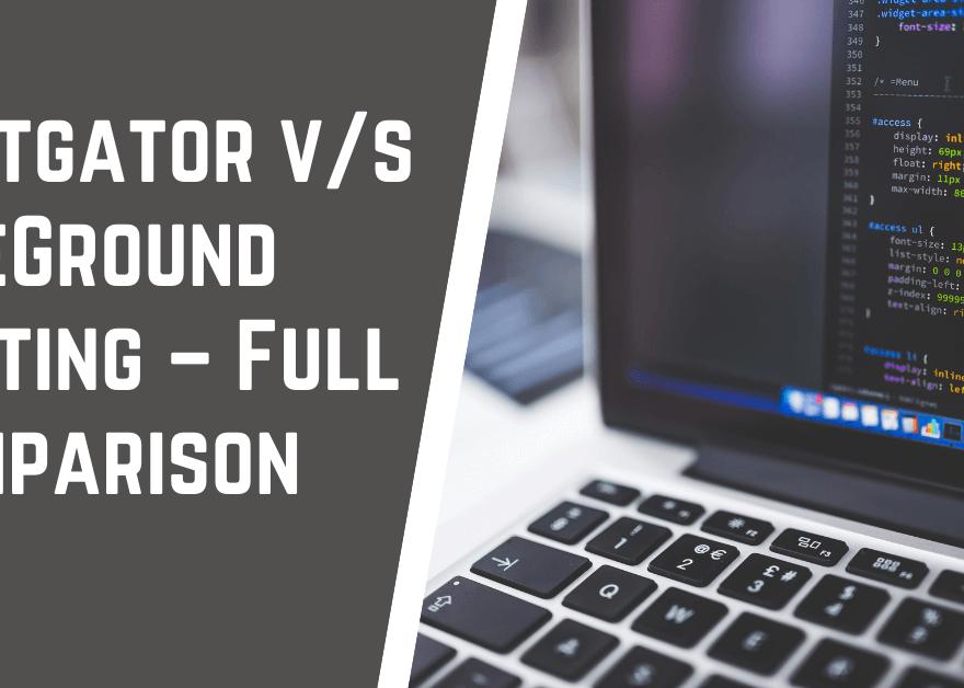 Hostgator v s SiteGround Comparison