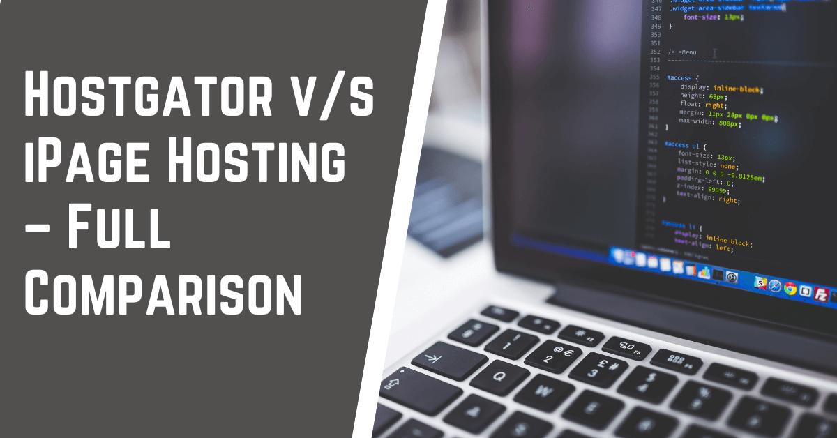 Hostgator v s iPage Comparison